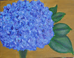 """Hydrangea from Richard's Garden"""