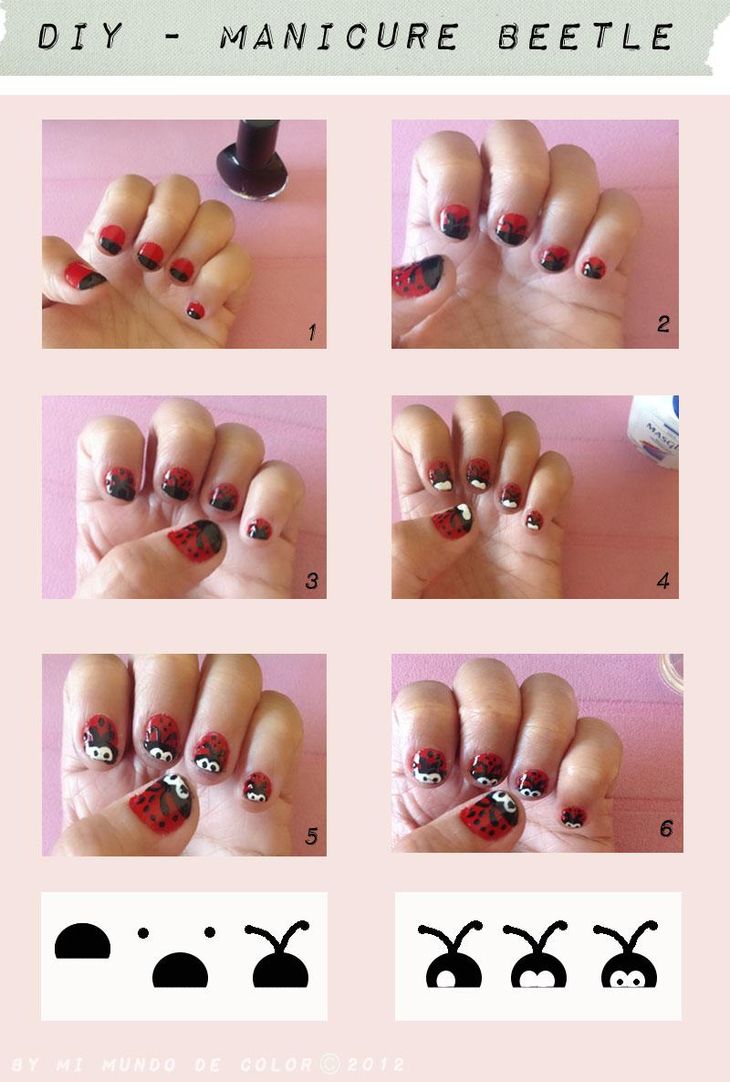 diy manicure beetle