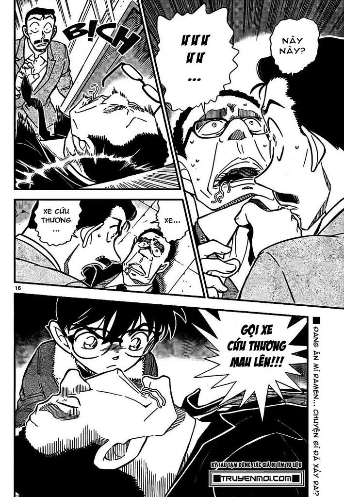 Thám Tử Lừng Danh Conan - Chapter 765 - Pic 16