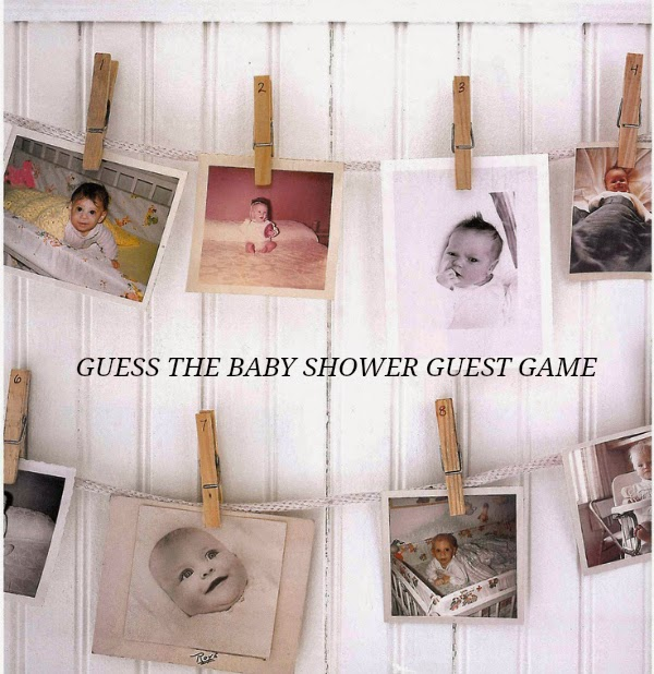 grown up baby shower games and activities