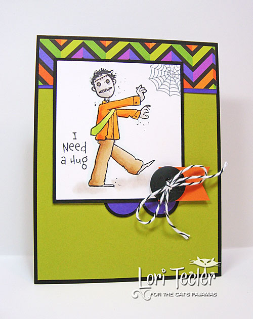I Need a Hug card-designed by Lori Tecler/Inking Aloud-stamps from The Cat's Pajamas