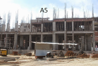 Amrapali Terrace Homes :: Construction Update a5