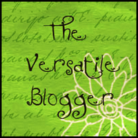 Awarded Versatile Blogger 10.06.12