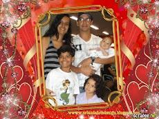 Meu marido ,eu e os meus pequenos!!!