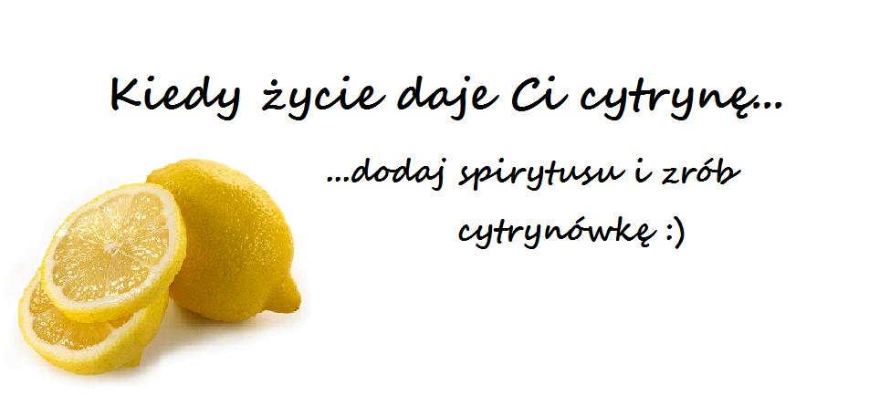 Kiedy życie daje Ci cytrynę...