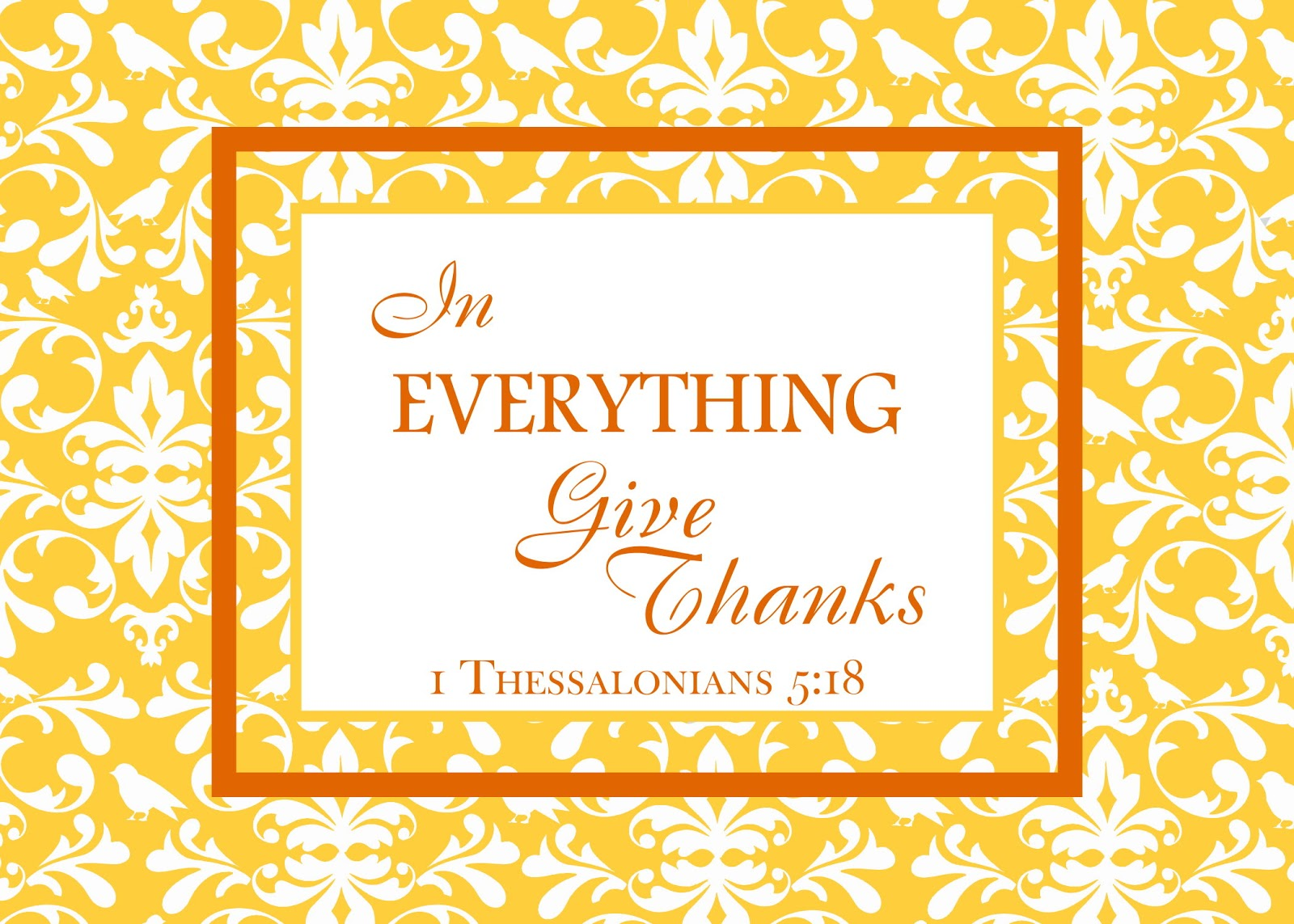 This is a graphic of Shocking Give Thanks Printable