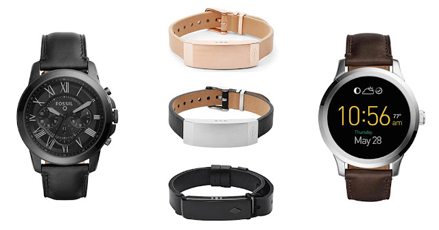 Fossil 1st smartwatch: Fossil Q Founder