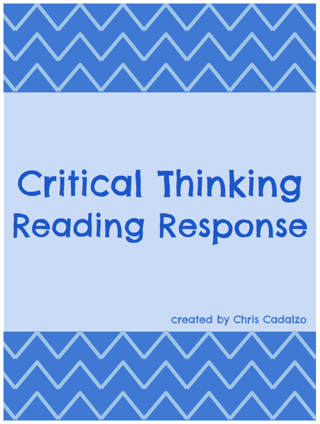 what activities are suggested for developing critical thinking in math