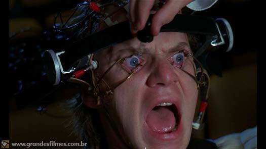 Malcolm McDowell em Laranja Mecânica