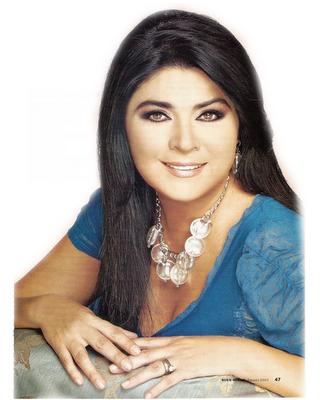 ... en la telenovela la fiera siendo la protagonista de dicha telenovela