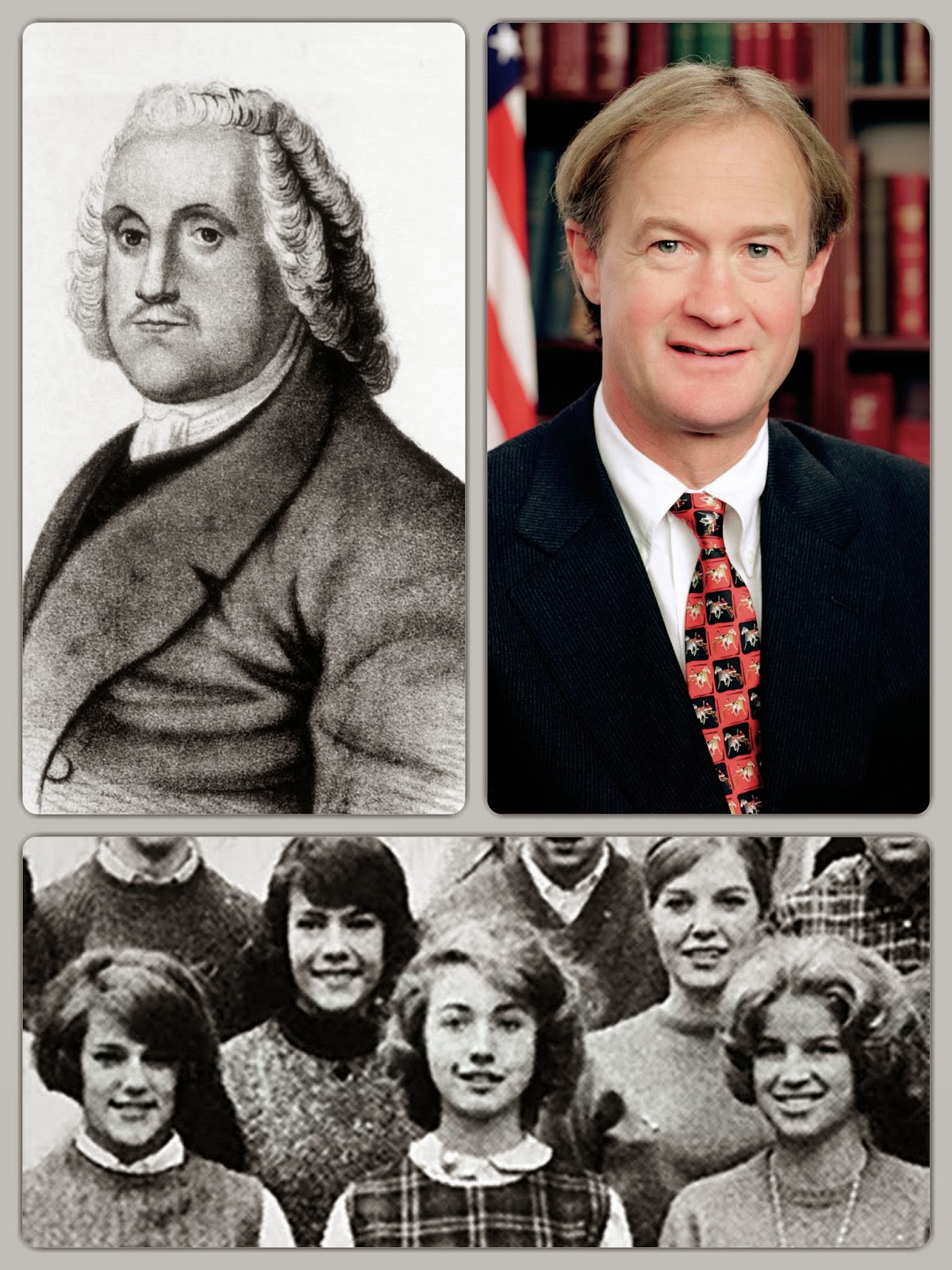 From Roger Williams to Lincoln Chafee is the story of Rhode Island