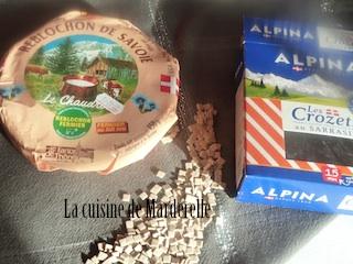 recette rapide de crozets de Savoie