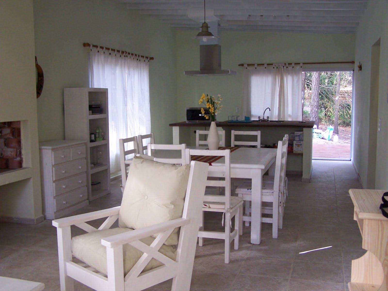 Casa el lucero - Cocina comedor integrados ...