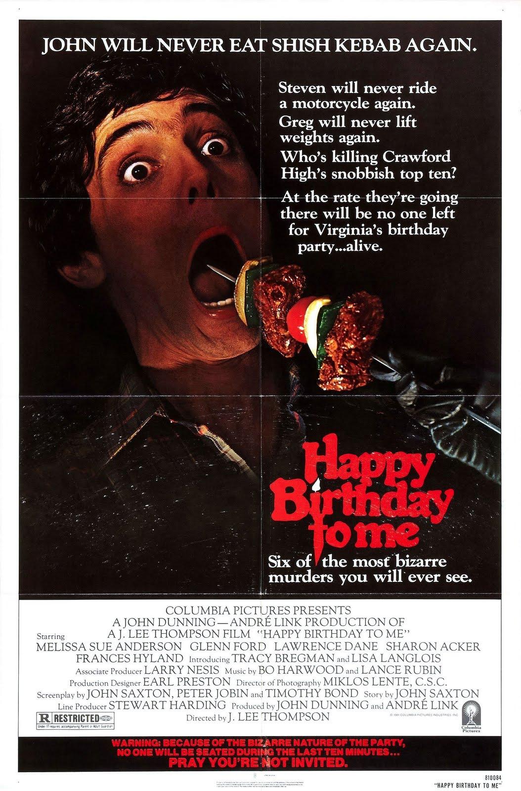Happy Birthday to Me (1981) - Rotten Tomatoes
