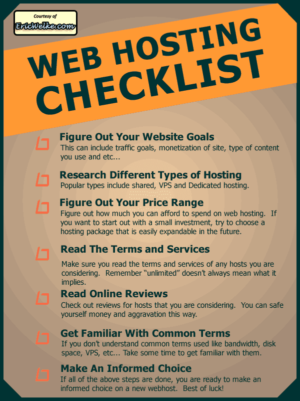 How to Find a Reliable Web Hosting Partner. Some Important Web Hosting Checklist!