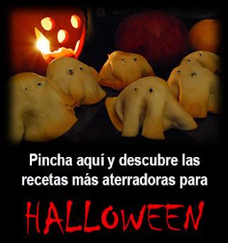 Recetas para una cena de Halloween aterradora!