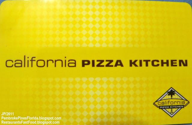 California Pizza Kitchen Pembroke Pines Fl