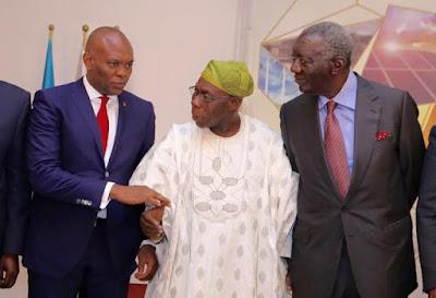 obasanjo osinbajo energy summit abidjan