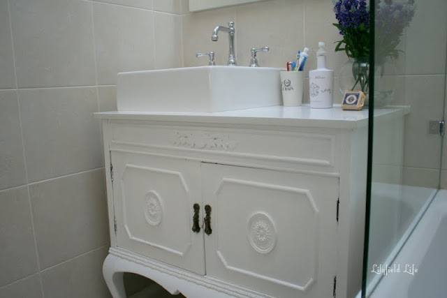 Lilyfield life turning vintage furniture into a bathroom for Bathroom cabinets ebay australia