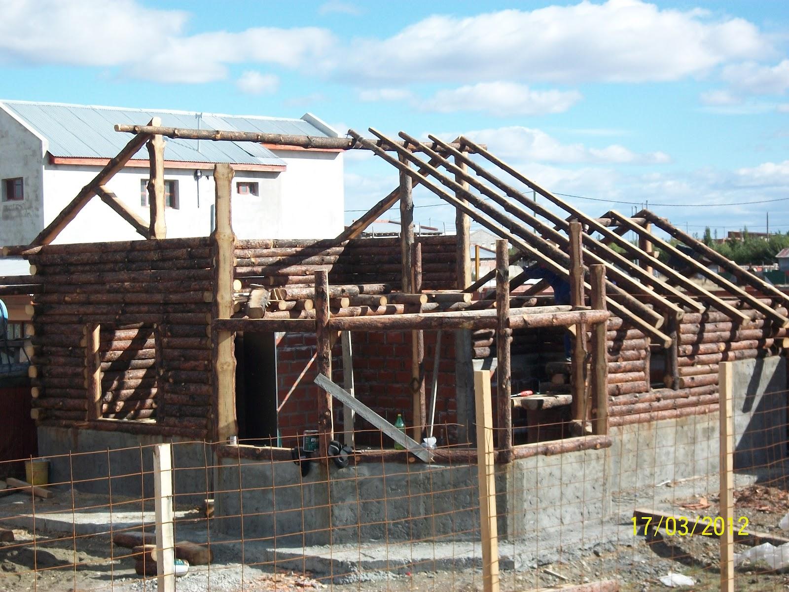 E s t i l o p a t a g o n i a construcci n de caba as de - Como construir una cabana ...