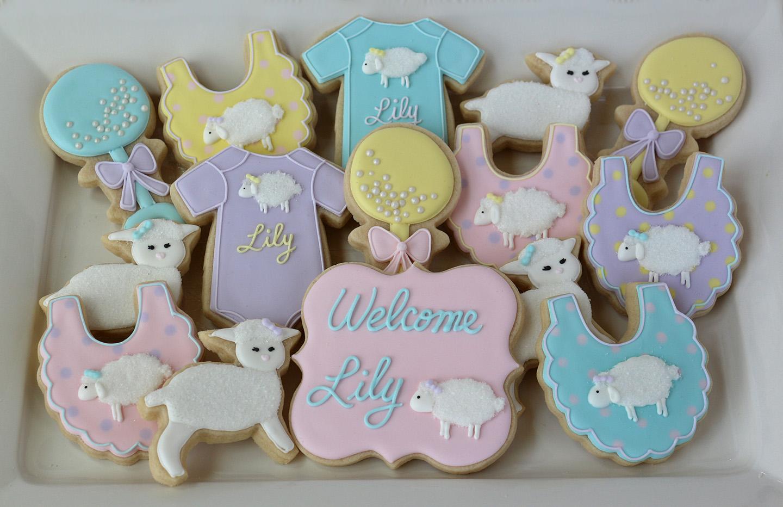 Lamb Themed Baby Shower Favors ~ Organic baby shower favors vintage lamb themed neutral ba shower