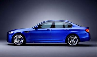 2012 BMW M5 Side