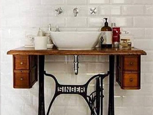 L 39 appartamento al piano di sotto tocchi vintage in casa - Idee arredo bagno ...