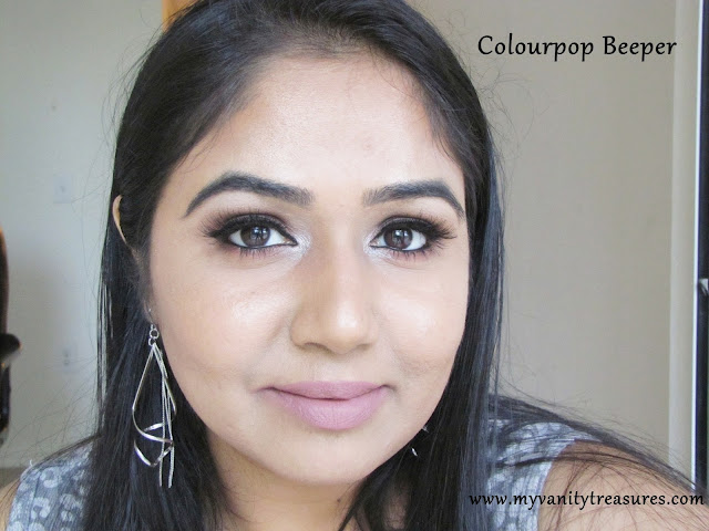 Colourpop Beeper Swatch