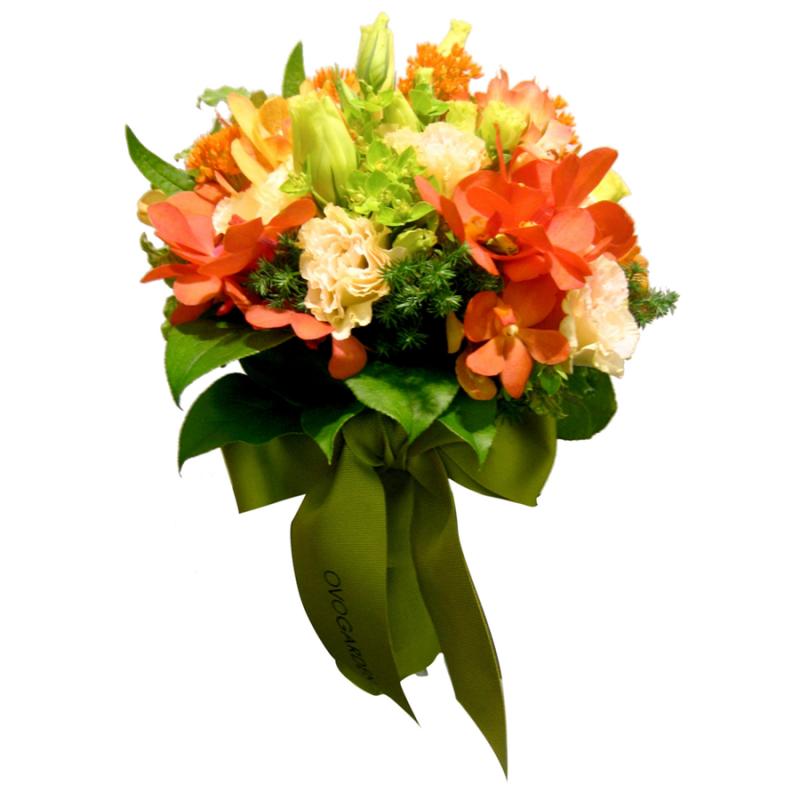 外形時尚的結婚花球