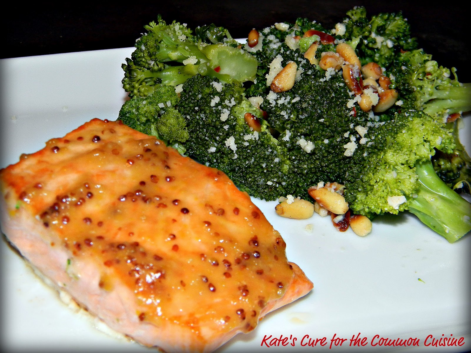 Kate's Cure for the Common Cuisine: Miso-Orange Glazed Fish