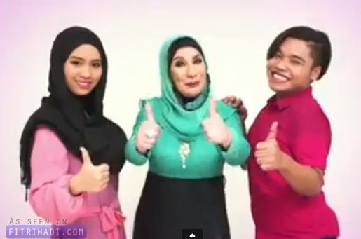 Video Iklan Syasya Kak Ton Bobo Macam Comel Jer
