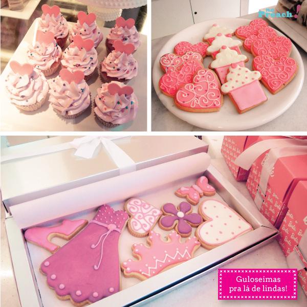 Loja da Barbie em Buenos Aires - cupcakes e cookies decorados