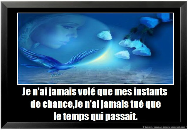 Citation sur la chance en image