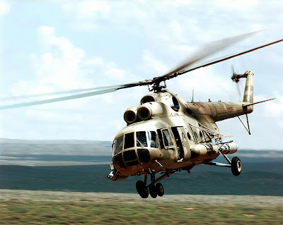 Mil Mi-8 Hip Helicopter