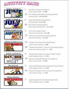 Calendar 2011 June-Dec