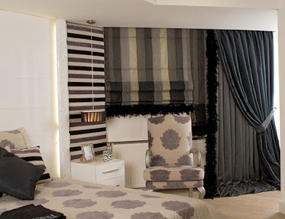 Casa immobiliare, accessori: tende camera da letto idee