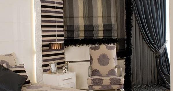 Casa immobiliare, accessori: Tende camera da letto moderna