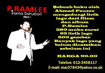 "BUKU ""P.RAMLEE IRAMA SANUBARI"""