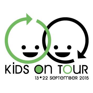 kids on tour button