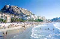 Images of Spain Alicante Beach 1 Information about Alicante Beaches, Festivals, and Attractions