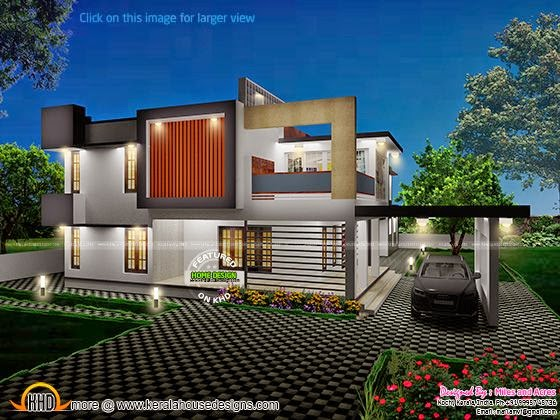 March 2015 kerala home design and floor plans House plan 3d view