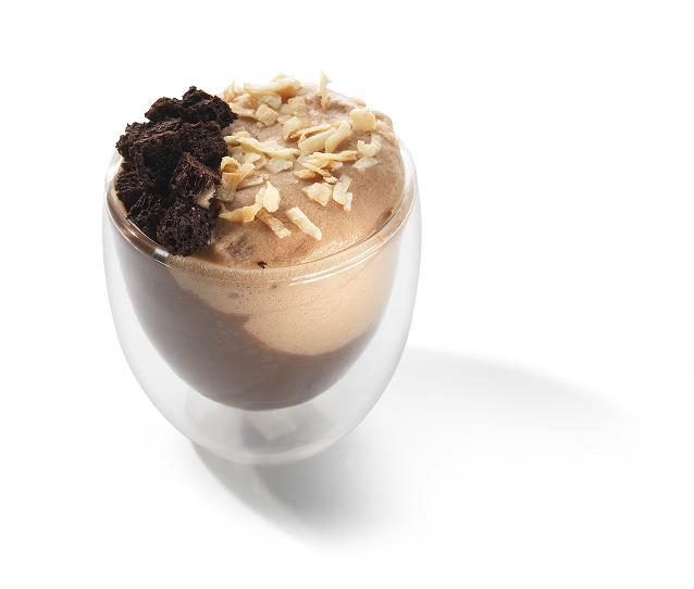 Chocolate Chipotle Soup ~ Milk Chocolate Coconut Foam