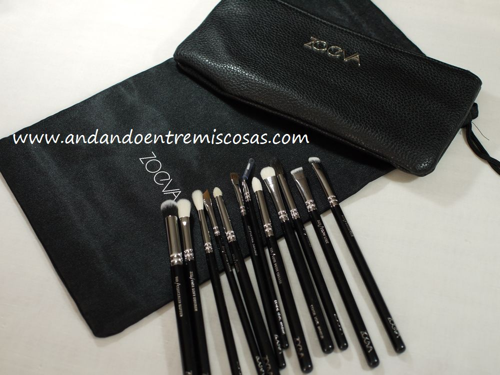 Set 12 brochas complete Eye de Zoeva