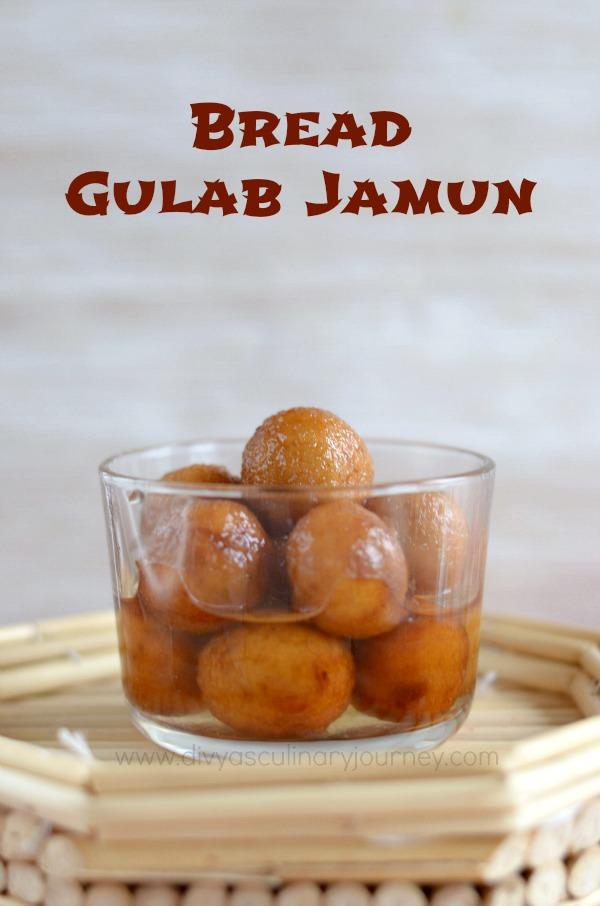 Bread Gulab Jamun