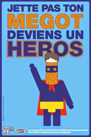 Jettes pas ton mégot deviens un héros