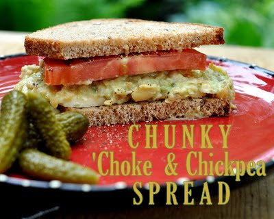 Chunky 'Choke & Chickpea Chow