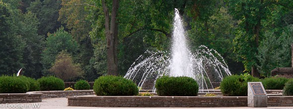 Image of Ritter Park Rose Garden Fountain