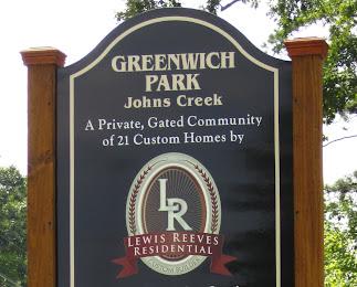 Greenwich Park - Johns Creek GA