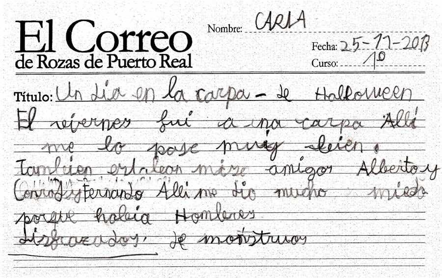 El Correo De Rozas De Puerto Real Un D A En La Carpa De