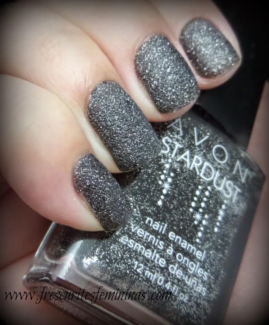 Avon, Stardust, Black, Sequins, Frescurites, Femininas